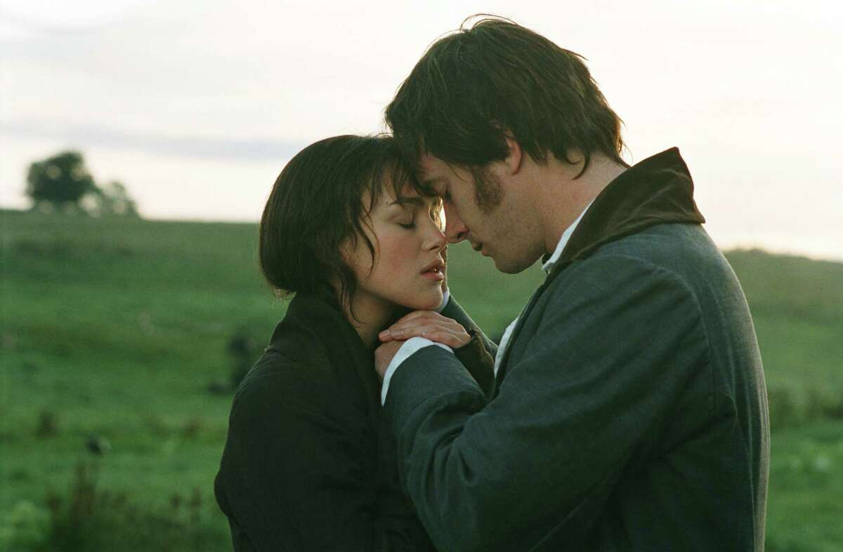 "Keira Knightley and Matthew Macfadyen star in Joe Wright's film version of ""Pride and Prejudice."""