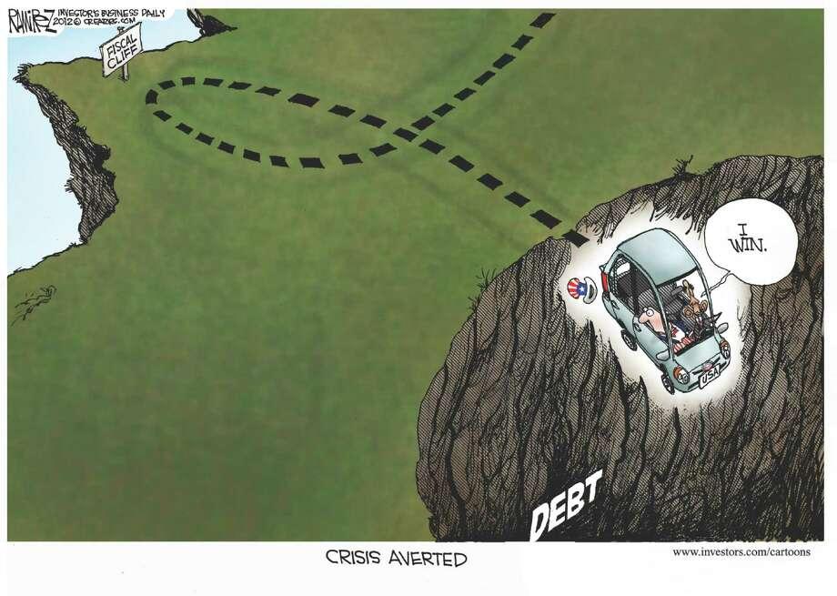 New cliff