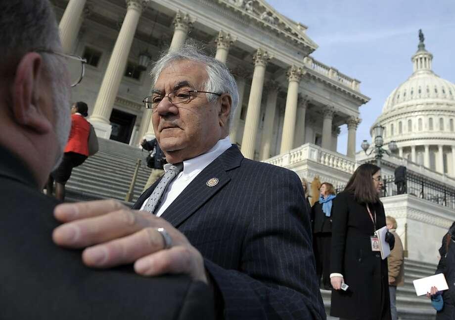 Former Rep. Barney Frank Photo: Cliff Owen, Associated Press