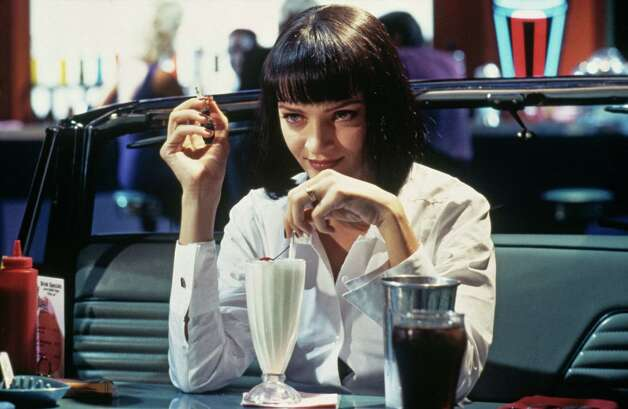 "Uma Thurman had a career high in the 90s, starting with ""Pulp Fiction"" in 1994.  Photo: Hulton Archive, Getty Images / 2012 Getty Images"