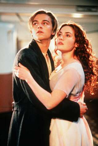"Kate Winslet made film-goers blubber away with Leonardo DiCaprio in ""Titanic.""  "" Photo: MERIE W. WALLACE, Associated Press / PARAMOUNT PICTURES/20TH CENTURY"