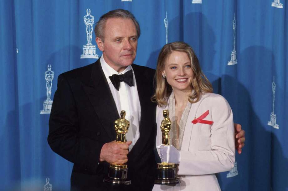 "Jodie Foster got the Best Actress Oscar in 1992 for ""Silence of the Lambs,"" along with Anthony Hopkins, who won Best Actor.   Photo: John T. Barr, Getty Images / Getty Images North America"