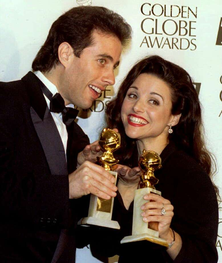 "Can't forget Julia Louis-Dreyfus of ""Seinfeld."" Pretty much defined '90s television.  Photo: DAVID CRANE, AFP/Getty Images / AFP Getty Images"