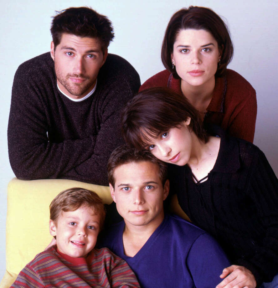 "And Neve Campbell (upper right) in ""Party of Five"" (which also starred Matthew Fox before ""Lost"").  Photo: ANDREW ECCLES, FOX  / FOX"