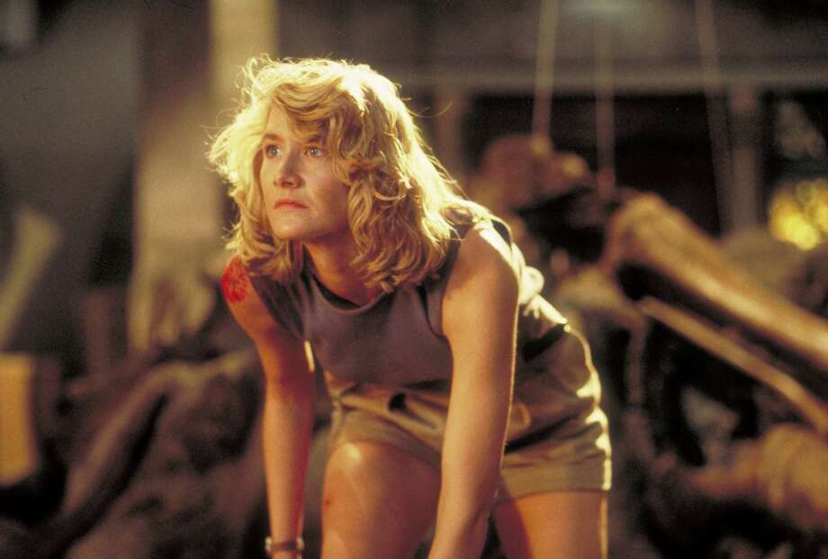 American actress Laura Dern as Dr. Ellie Sattler in a scene from the film 'Jurassic Park.' Photo: Murray Close, Getty Images / 2011 Murray Close