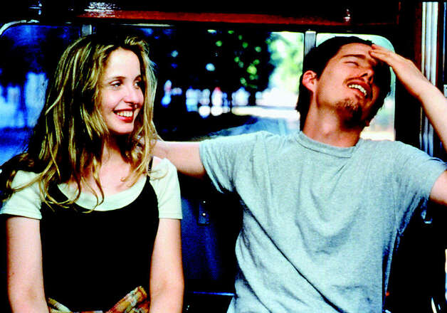 "Julie Delpy (with Ethan Hawke) was adorable in ""Before Sunrise"" (1995), which was sort of the '90s indie version of ""The Notebook."" Photo: File"