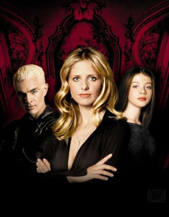 "But best of all, there was Sarah Michelle Gellar, in ""Buffy the Vampire Slayer.""  Photo: File"