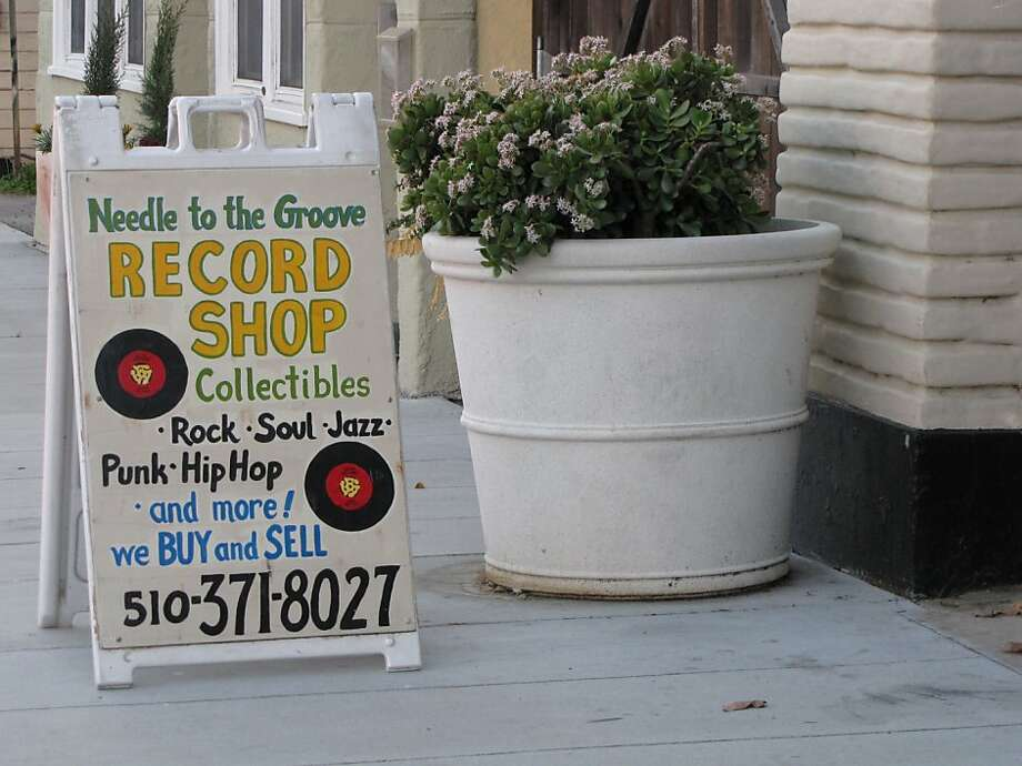 For you East Bay audiophiles living south of Oakland, Needle to the Groove has you covered. The Fremont record shop holds a large collection of rock, soul, jazz, punk, and hip-hop vinyls. (131 I Street, Fremont.) Photo: Stephanie Wright Hession
