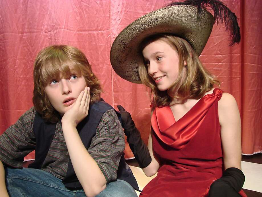 "Middle-school-age actors - those shown here are from a previous production - make ""Really Rosie"" exceptionally kid-friendly. Photo: Stephanie Temple"