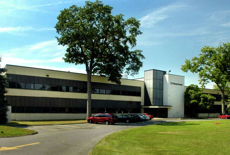 23 Barry Place in Stamford, formerly leased by Pitney Bowes, has been sold for more than $7 million to Black Iron Stamford, a Fairfield-based partnership. Photo: Paul Desmarais, ST / 00007464A
