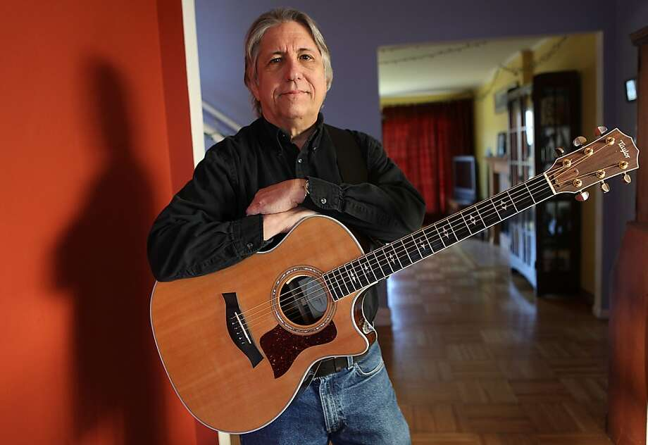 Jim Bruno of Daly City spent decades honing his craft as a songwriter before he began to teach the subject in his 50s, about five years ago. Photo: Liz Hafalia, The Chronicle