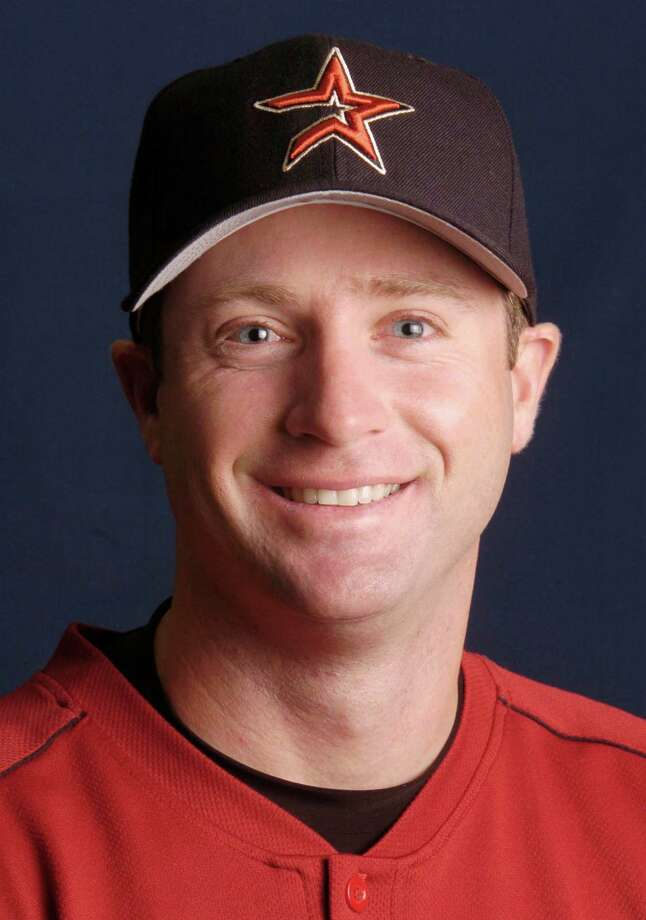 """(2/26/04) Morgan Ensberg, infielder for the Houston Astros, Thursday morning during spring training, in Kissimmee, Florida. (Karen Warren/Houston Chronicle)     HOUCHRON CAPTION (03/31/2004):  Ensberg     HOUCHRON CAPTION (04/04/2004):  MORGAN ENSBERG       SPECIAL SECTION:  TEXAS TIES BASEBALL 2004     HOUCHRON CAPTION (04/23/2004)(04/24/2004):  Ensberg     HOUCHRON CAPTION (05/07/2004):  """"I've been a slow starter my entire life, and I'm not just talking about as a pro.  I'm talking about, like, since I'm 6 hears old....It usually takes me, like, a month to start hitting the ball.""""  -- Astros third baseman Morgan Ensberg     HOUCHRON CAPTION (05/08/2004)(05/13/2004)(07/01/2004)(07/07/2004)(07/11/2004)(07/22/2004)(08/28/2004)(08/29/2004)(08/30/2004)(09/05/2004)(09/15/2004)(09/29/2004:  Ensberg     HOUCHRON CAPTION (10/07/2004)(10/22/2004) SECSPTS:  ENSBERG    ASTROS EXTRA Photo: Karen Warren, Staff / Houston Chronicle"""