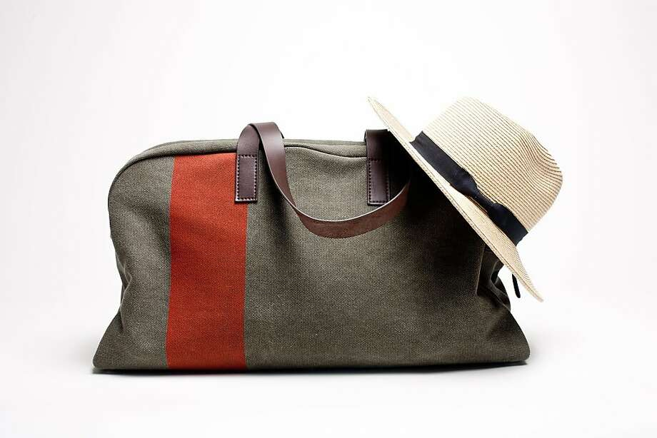 The Everland Weekender in olive is $95 at www.everlane.com (membership required). Photo: Everlane