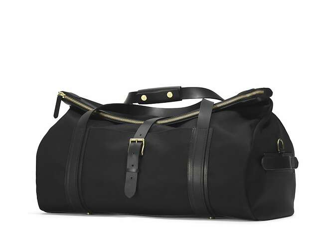 The Explorer Weekender Bag by Mismo ($995) is available at Park & Bond (www.parkandbond.com) and Barneys New York (www.barneys.com) Photo: Park & Bond