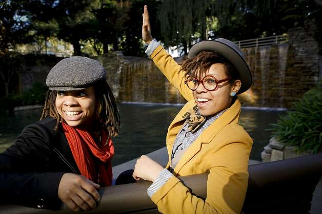 Melonie (left) and Melorra Green are working with city officials, arts organizations and merchants to renew the Fillmore and Western Addition neighborhoods. Photo: Russell Yip, The Chronicle
