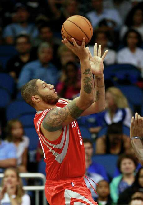The only time Royce White donned a Rockets uniform in a game was  the preseason. Photo: John Raoux, STF / AP