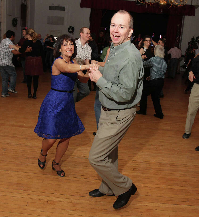 Were you Seen at Albany First Friday Capital Swing Dance featuring Mark Gamsjager and the Lustre Kings, presented by DanceFlurry on Friday, Jan. 4, 2013? Photo: Joe Putrock/Special To The Times Union