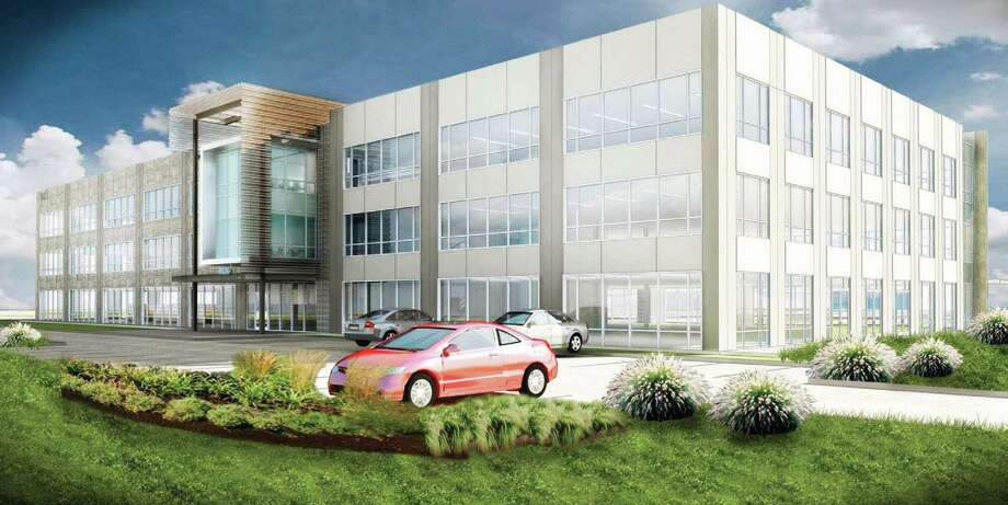 TGS-Nopec Geophysical Co. will lease a new North American headquarters building at 10451 Clay Road. Photo: Courtesy Rendering, HO