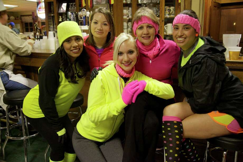 """Downtown and Southtown enthusiasts enjoyed the monthly """"Run A Tab Pub Run"""" event Friday, Jan. 4, 2013. Photo: Xelina Flores-Chasnoff, MySA.com / SA"""