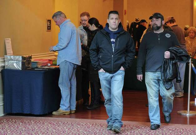 The 8th annual East Coast Fine Arms Show is held at the Corwne Plaza Hotel in Stamford on Saturday, January 5, 2013. Photo: Lindsay Perry / Stamford Advocate