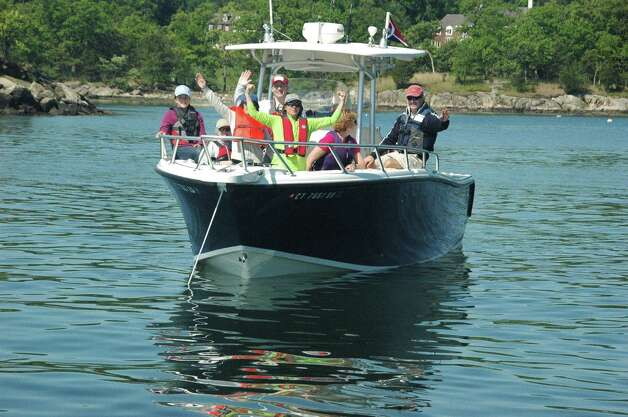 Students in basic coastal boating course, starts Wednesday, Jan. 9, includes an on-the-water session in May. Photo: Contributed