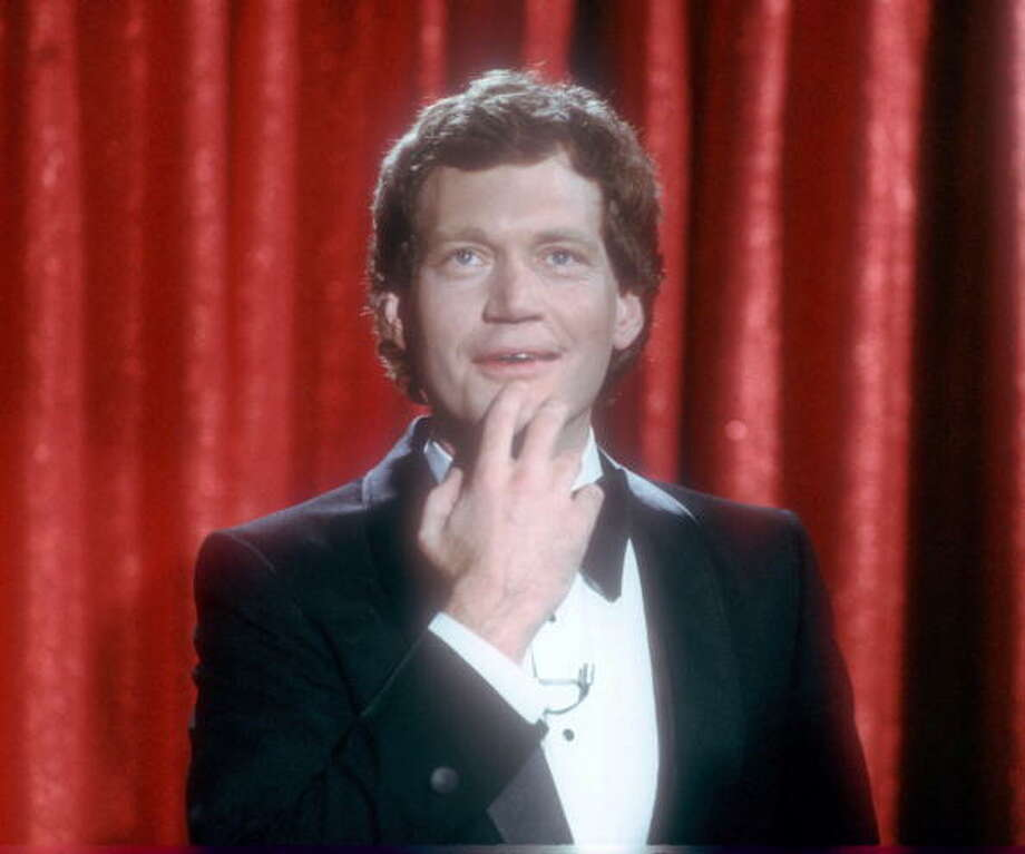 David Letterman performs in New York City in this undated picture. Getty Images / Yvonne Hemsey