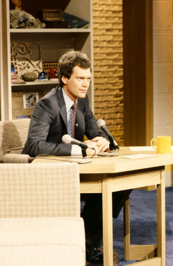 1982: Host David Letterman. Getty Images / 2012 NBCUniversal Media, LLC