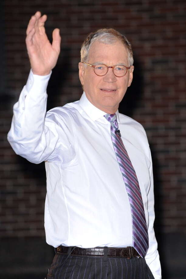 2013: David Letterman films a segment at the Ed Sullivan Theater in New York City. FilmMagic / 2012 Ray Tamarra