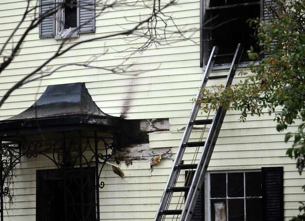 A fire was reported at 2402 South Street at 3:34 P.M. on Saturday, January 5, 2013.  The fire caused extensive damage to the two story structure.  The cause of the fire has not yet been released. Photo taken: Randy Edwards/The Enterprise