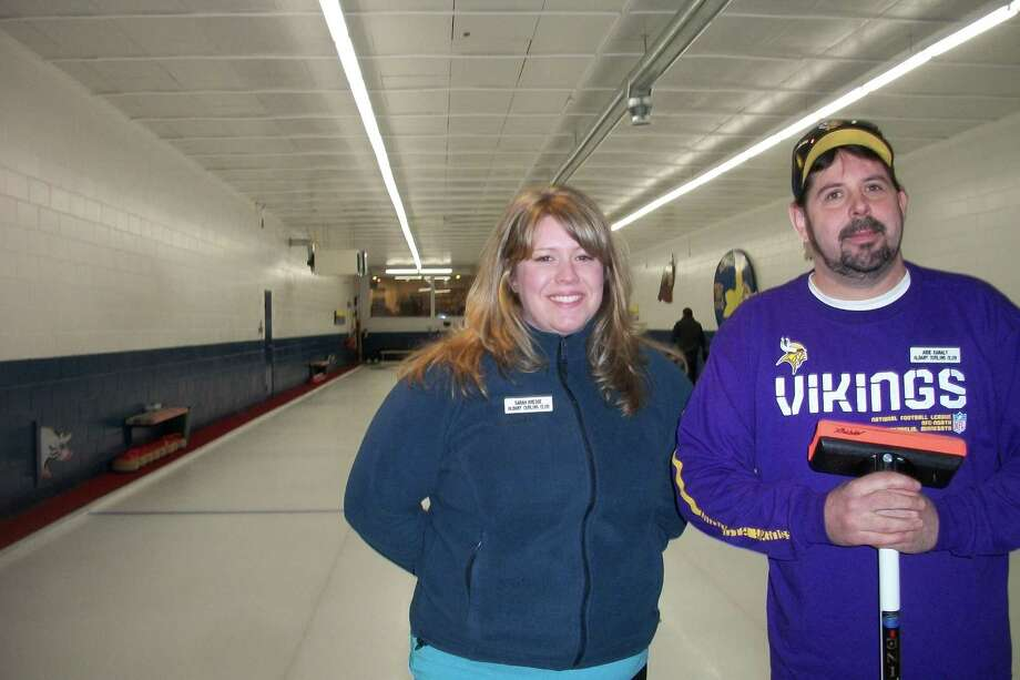 Were you Seen throwing stones at the Albany Curling Club's open house on Saturday, Jan. 5, 2013? Photo: Ed O'Neill