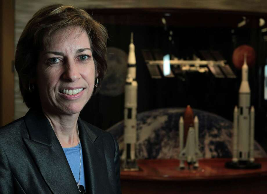 After four space shuttle missions as an astronaut, Ellen Ochoa chose to transition into a management position. She was recently selected as the next director of NASA's Johnson Space Center.  Photo: James Nielsen, Staff / © Houston Chronicle 2012