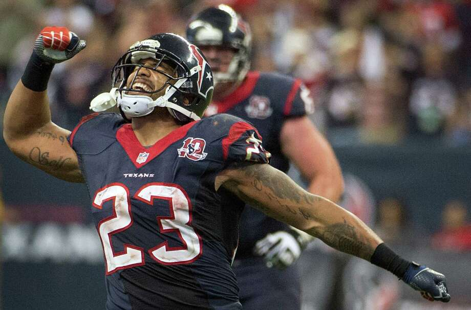 If you have me on your fantasy team this week don't fret. I have 13 rollover points that carry into the bye week. But you have to start me.— Arian Foster (@ArianFoster) November 16, 2011 Photo: Smiley N. Pool, Staff / © 2013  Houston Chronicle