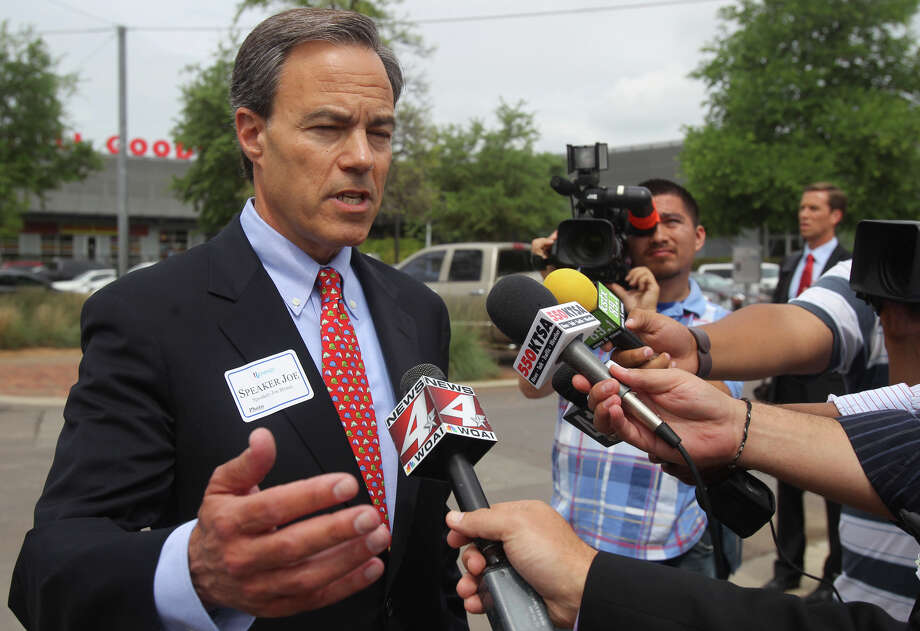 HOUSE SPEAKER JOE STRAUS: A fiscal conservative whose priority always has been to pass a state budget that meets the state's basic needs without adding too many frills. The San Antonio Republican faces another challenge from the far right for his leadership spot in the 150-member state House, but it would take an epic upset for Straus to not win a third term as speaker when lawmakers convene Tuesday. Straus wants to focus on improving public education and on funding infrastructure needs, such as water and highways. Photo: John Davenport, San Antonio Express-News / SAN ANTONIO EXPRESS-NEWS (Photo can be sold to the public)