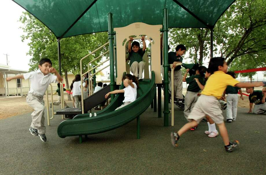 PUBLIC EDUCATION: Texas public schools took a beating when state lawmakers cut $5.4 billion from K-12 education two years ago to help deal with a budget shortfall. Lawmakers also have increased academic standards with the new STAAR accountability system. The combination of less funding and higher standards is a key component in an ongoing school funding lawsuit being heard in a state district courtroom about two blocks from the Capitol. A ruling from Judge John Dietz is expected by midway through the legislative session. Lawmakers, however, are not expected to respond until the Texas Supreme Court rules. Legislators are being pressed to restore some of the public school funding cuts, starting with money to pay for enrollment growth. Photo: Helen L. Montoya, San Antonio Express-News / SAN ANTONIO EXPRESS-NEWS