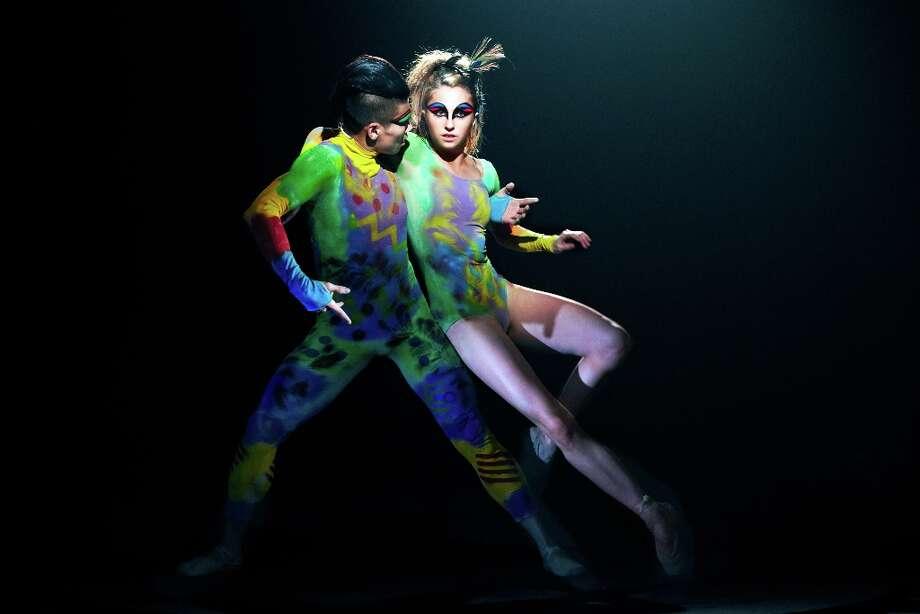 Navarra-Novy Williams and Matthew Rich of Cedar Lake Contemporary Ballet; photo Erez Sabag, courtesy of Jacob's Pillow Dance