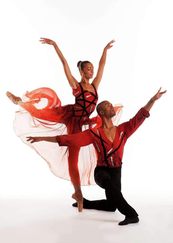 Gabrielle Salvatto and Anthony Savoy of Dance Theatre Of Harlem; photo Rachel Neville, courtesy of Jacob's Pillow Dance
