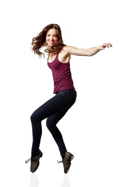 Michelle Dorrance; photo Matthew Murphy, courtesy of Jacob's Pillow Dance