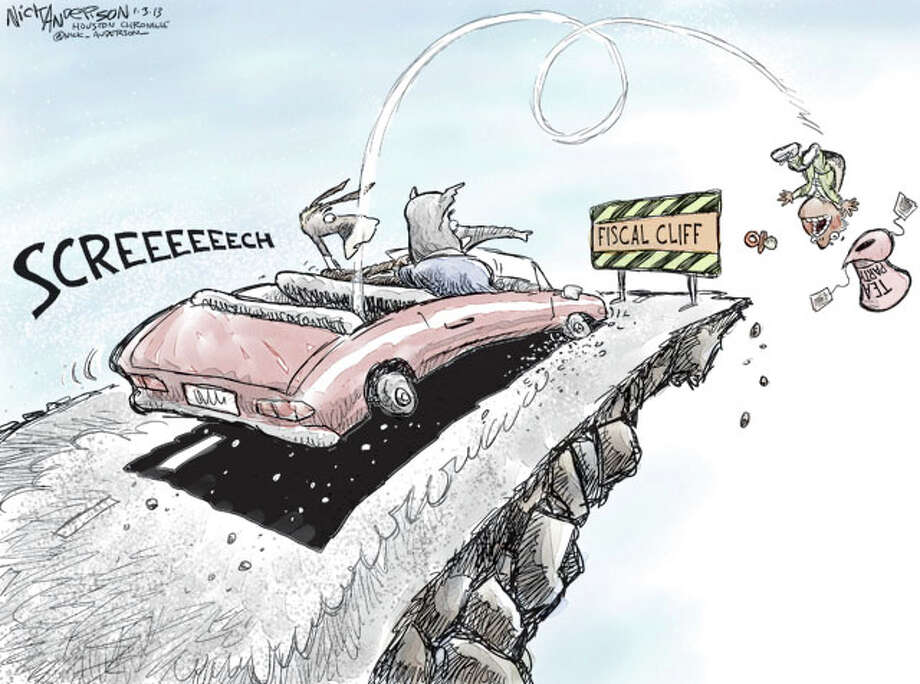 Hitting the brakes (Nick Anderson / Houston Chronicle)