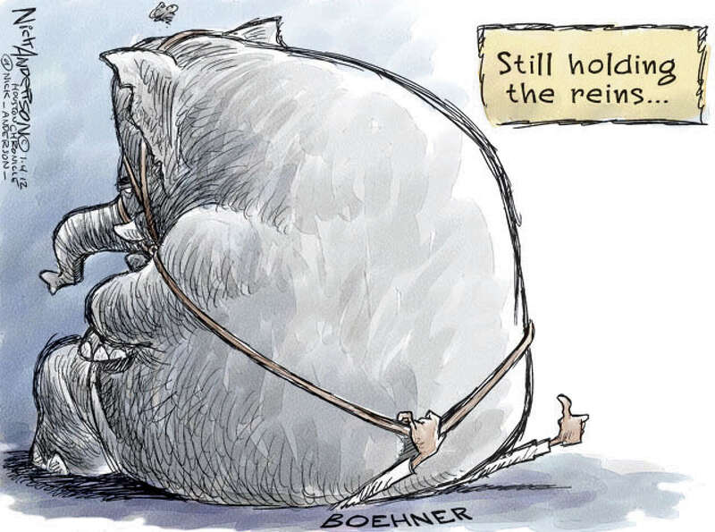 Holding the reins (Nick Anderson / Houston Chronicle)