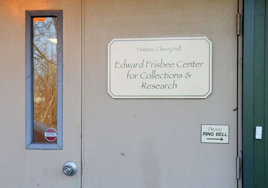 Sign on the Historic Cherry Hill Edward Frisbee Center for Collections and Research on Friday Dec. 14, 2012 in Albany, N.Y. Cherry Hill is facing dire financial straits.  (Lori Van Buren / Times Union) Photo: Lori Van Buren
