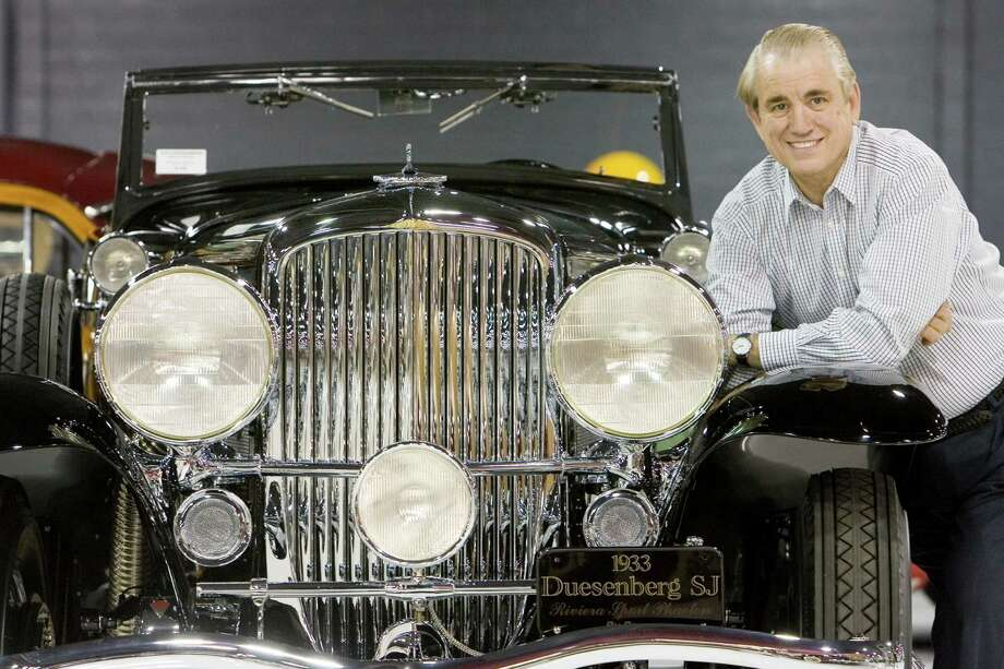 5/16/06--Attorney John O'Quinn stands with a 1933 Duesenberg S J Riviera Sport Phaeton by Brunn, one of the favorites of his collection.   Steve Campbell / Staff Photographer, Houston Chronicle Photo: Steve Campbell, Houston Chronicle / Houston Chronicle
