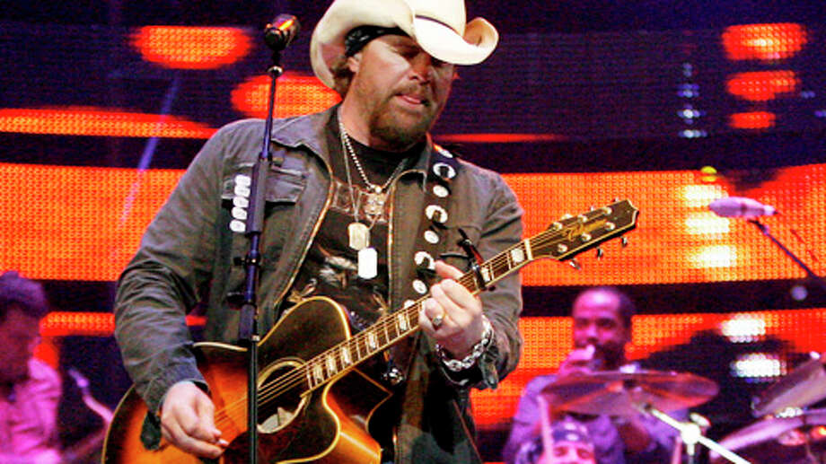 Feb. 25 -- Toby Keith Photo: Karen Warren, . / Houston Chronicle