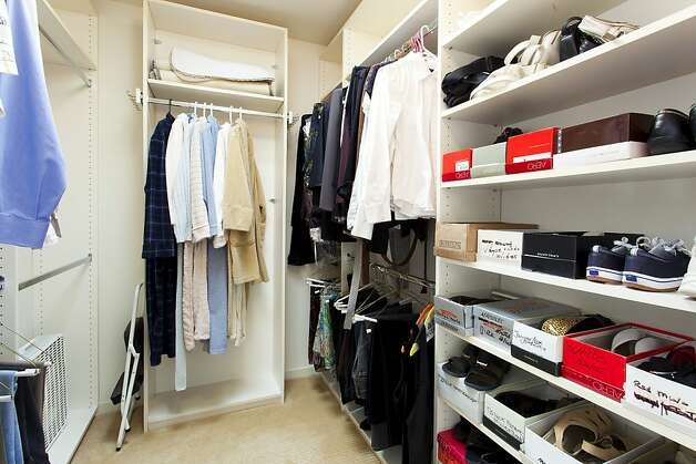 The closets in each bedroom have ample storage space. Photo: Steph Dewey, Reflex Imaging