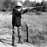 Americans have always been interested in how their presidents spend their time off. From Hawaiian getaways to clearing brush on the ranch, here's a look at presidents on vacation:In this 1928 file photo, President Calvin Coolidge shoots at clay pigeons at his vacation home on the Brule at Superior, Wis. He scored 29 out of 37.