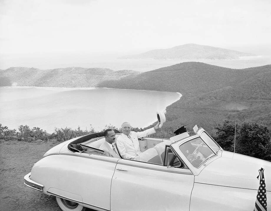 President Truman on vacation. Photo: Associated Press / Associated Press