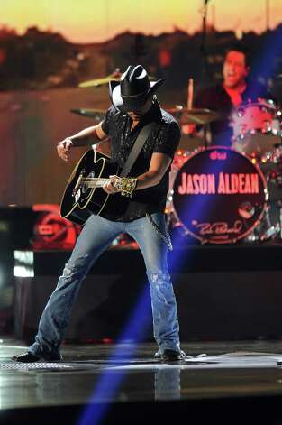 March 11: Jason Aldean, Houston Livestock Show and Rodeo, Houston Photo: Al Powers, INVL / Invision