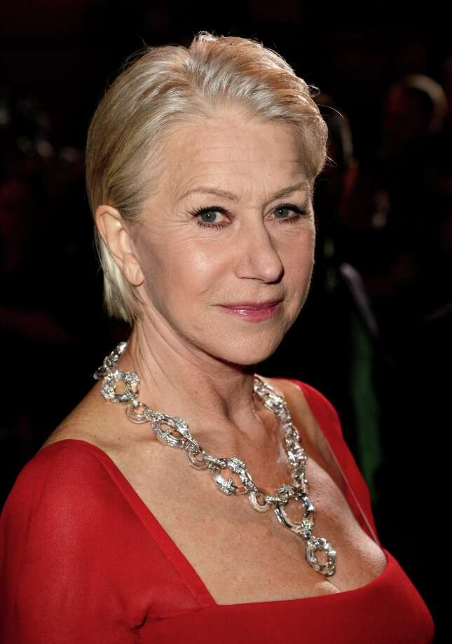 Actress Helen Mirren arrives at the 24th annual Palm Springs International Film Festival Awards Gala at the Palm Springs Convention Center on January 5, 2013 in Palm Springs, California. Photo: Jason Merritt / 2013 Getty Images