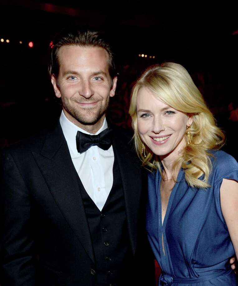 Actors Bradley Cooper (L) and Naomi Watts attend the 24th annual Palm Springs International Film Festival Awards Gala at the Palm Springs Convention Center on January 5, 2013 in Palm Springs, California. Photo: Michael Buckner / 2013 Getty Images