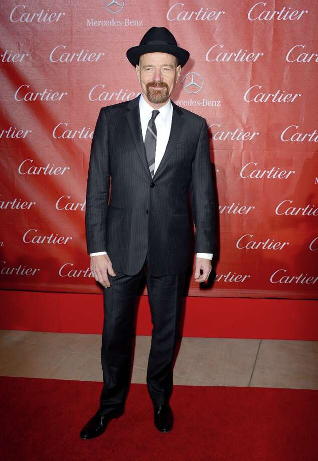 Actor Bryan Cranston arrives at the 24th annual Palm Springs International Film Festival Awards Gala at the Palm Springs Convention Center on January 5, 2013 in Palm Springs, California. Photo: Frazer Harrison, Getty Images / 2013 Getty Images