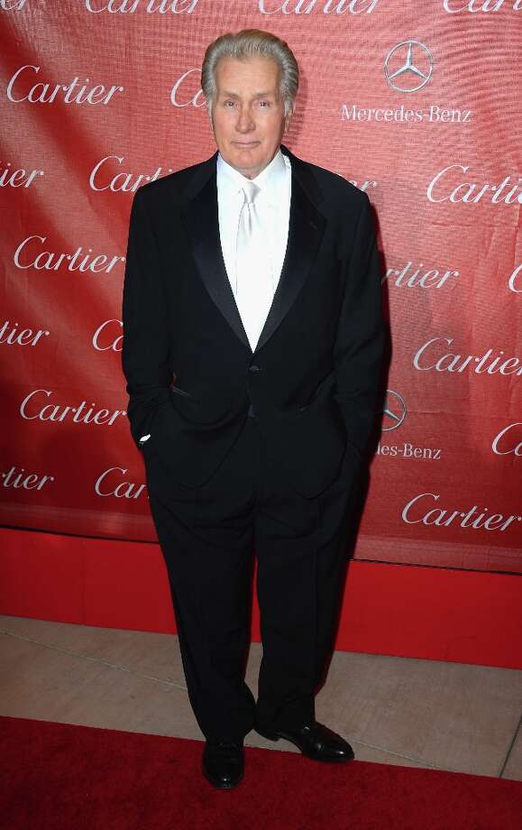 Actor Martin Sheen arrives at The 24th Annual Palm Springs International Film Festival Awards Gala on January 5, 2013 in Palm Springs, California. Photo: Frazer Harrison, Getty Images / 2013 Getty Images